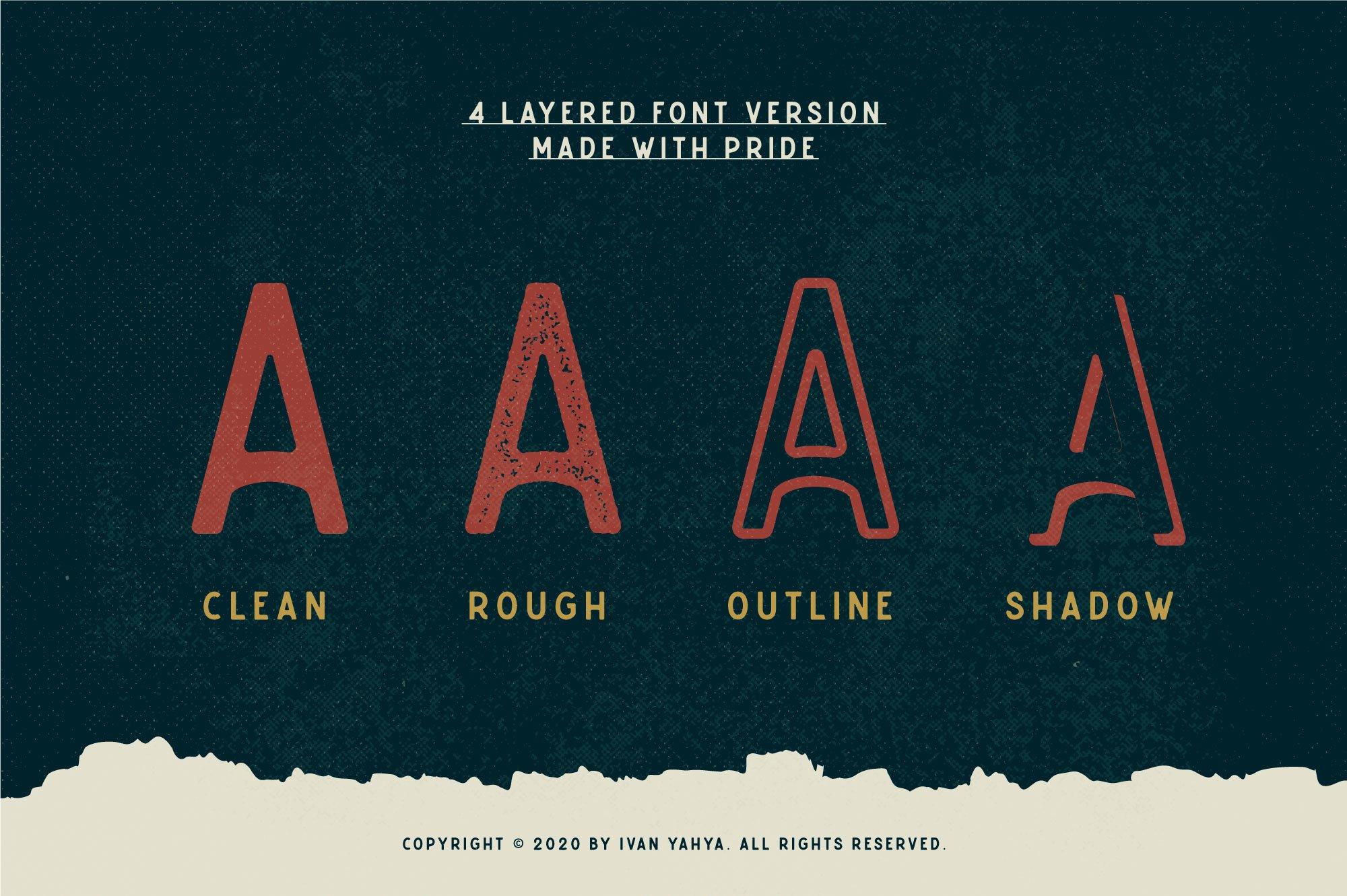 Caltons Typeface With Extra Bonus example image 8