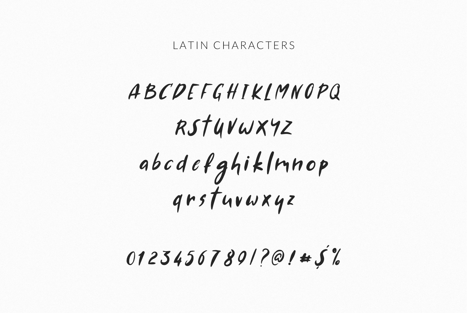 AMA Greek and Latin Font example image 11