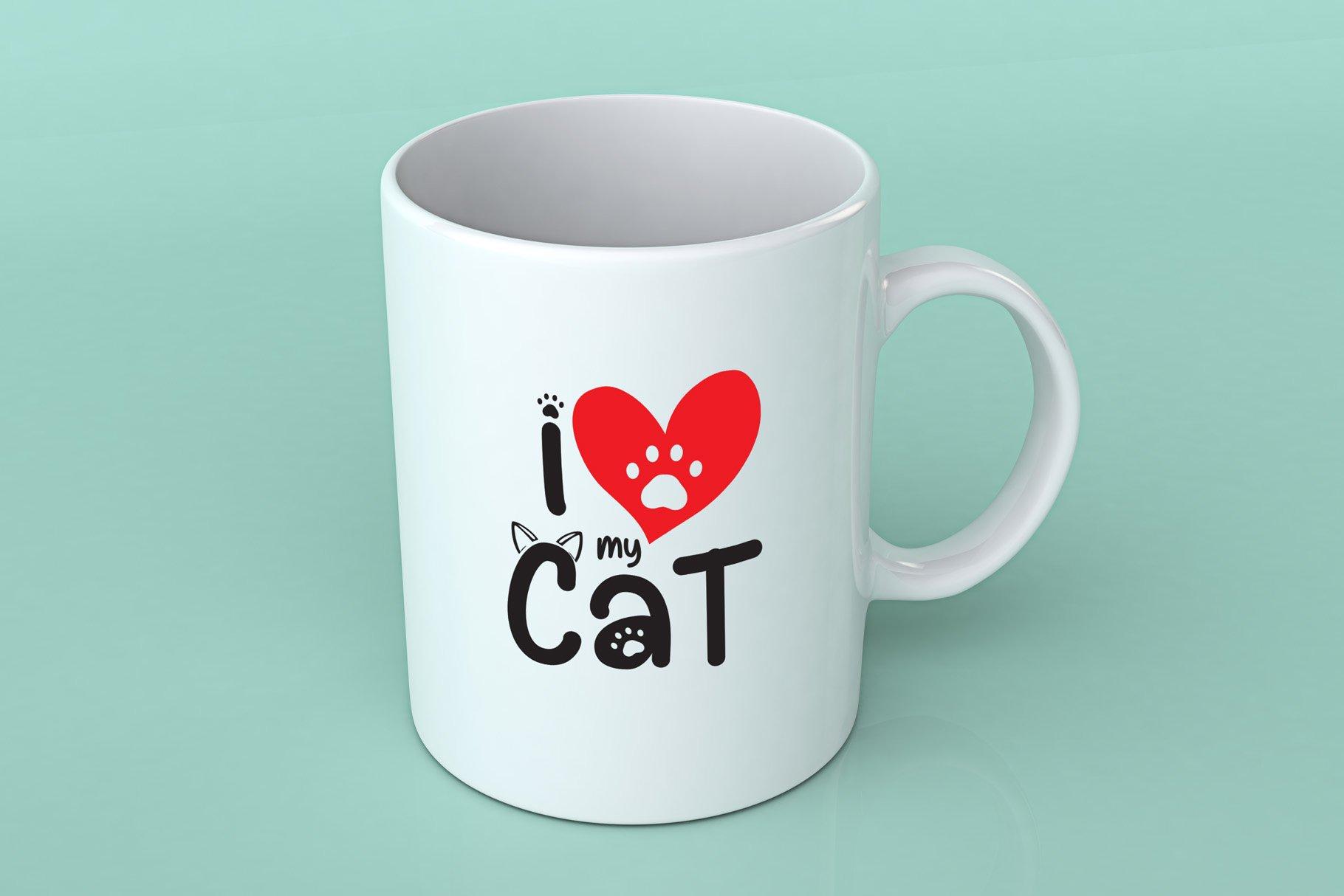 Cat Meow - 3 Font Plus Bonus Clip Arts example image 4