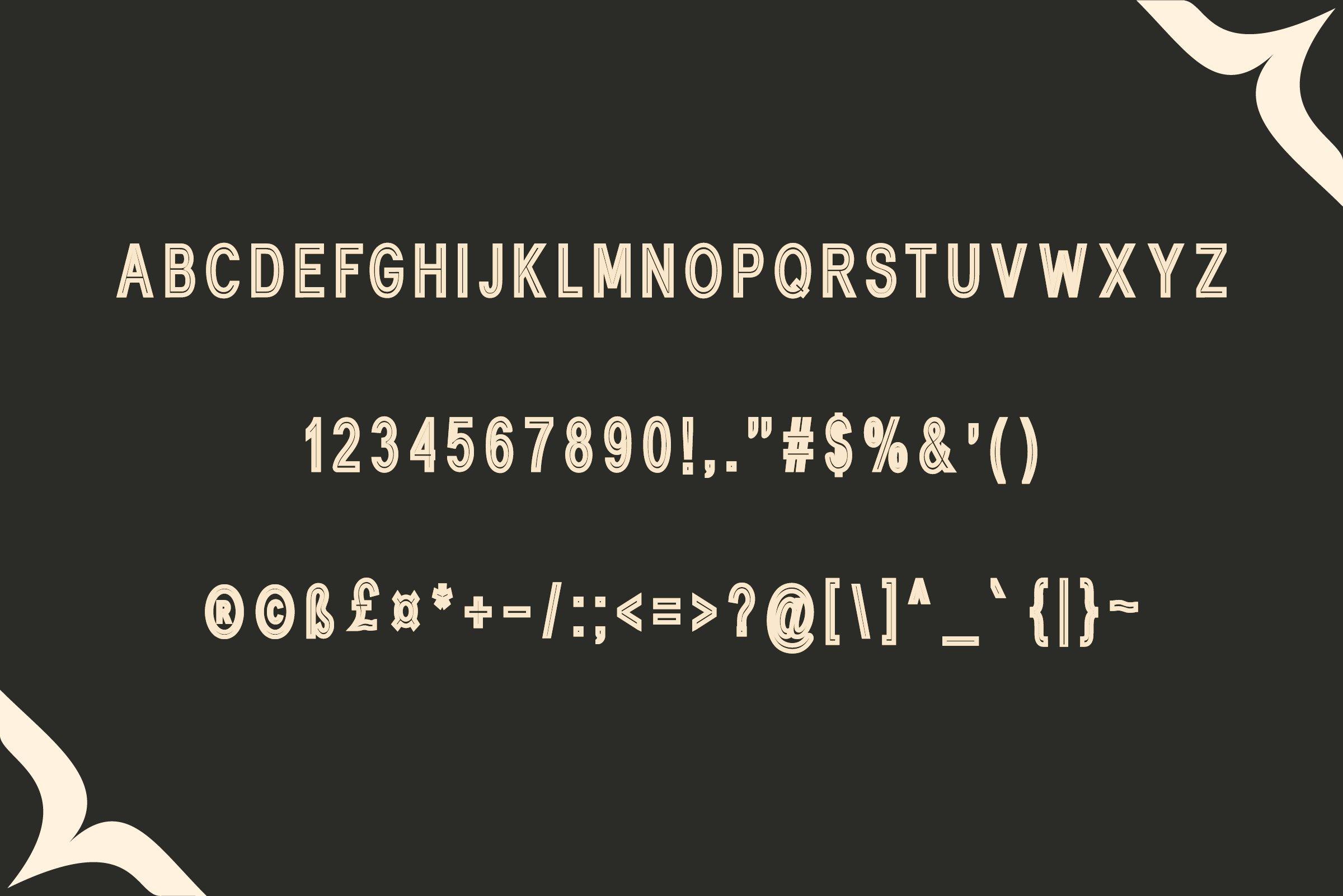 Lionthine l Elegant Typeface example image 2