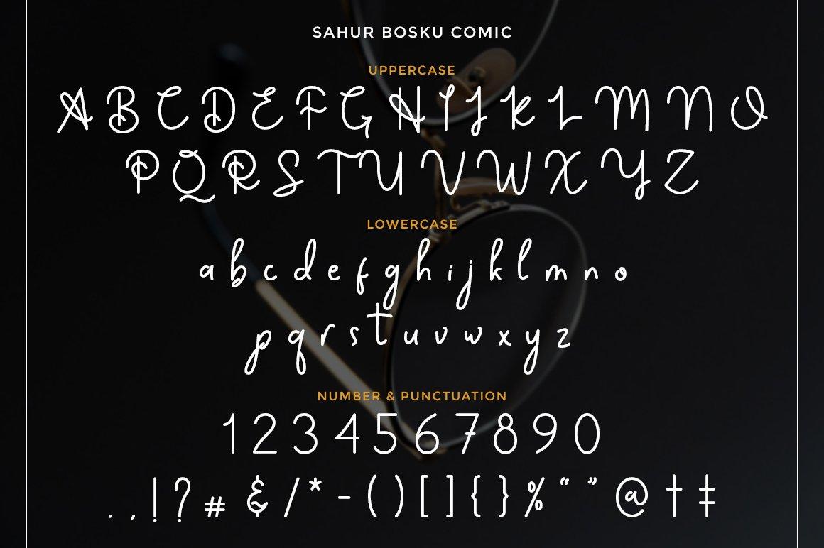 Sahur Bosku example image 7