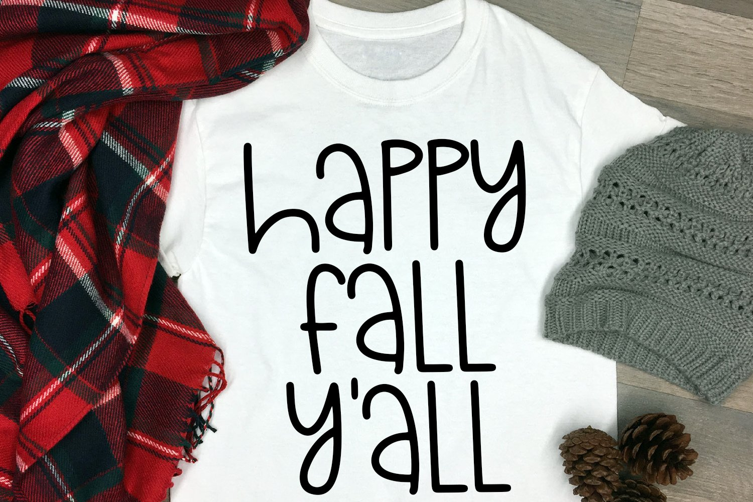 Fall Breeze - A Hand-Lettered Mixed Case Font example image 3