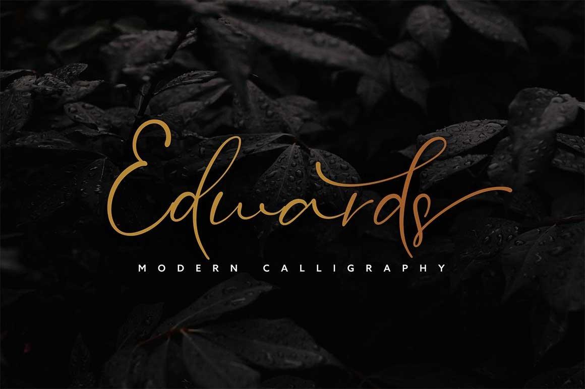 HUGE BUNDLE - Calligraphy Font example image 12