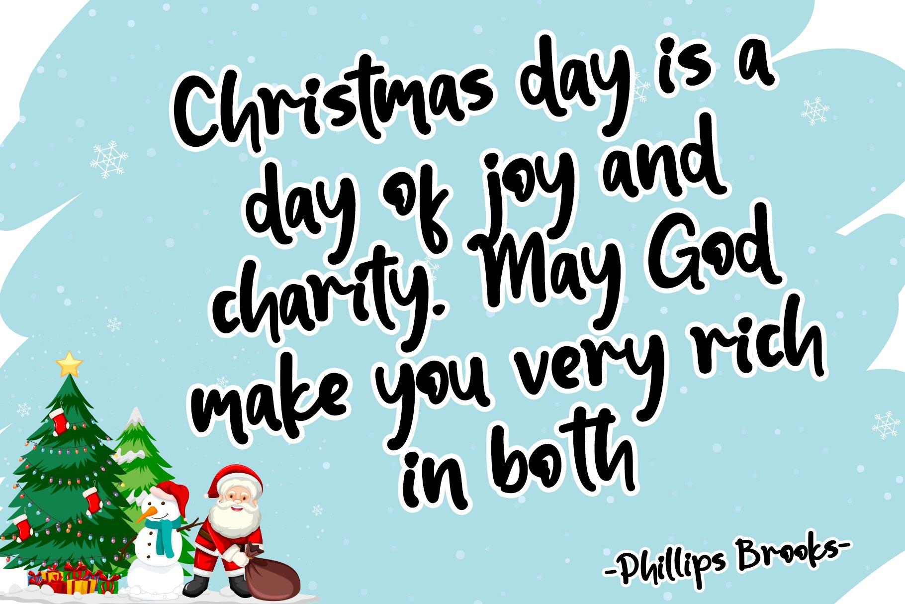 Christmas Holiday example image 4