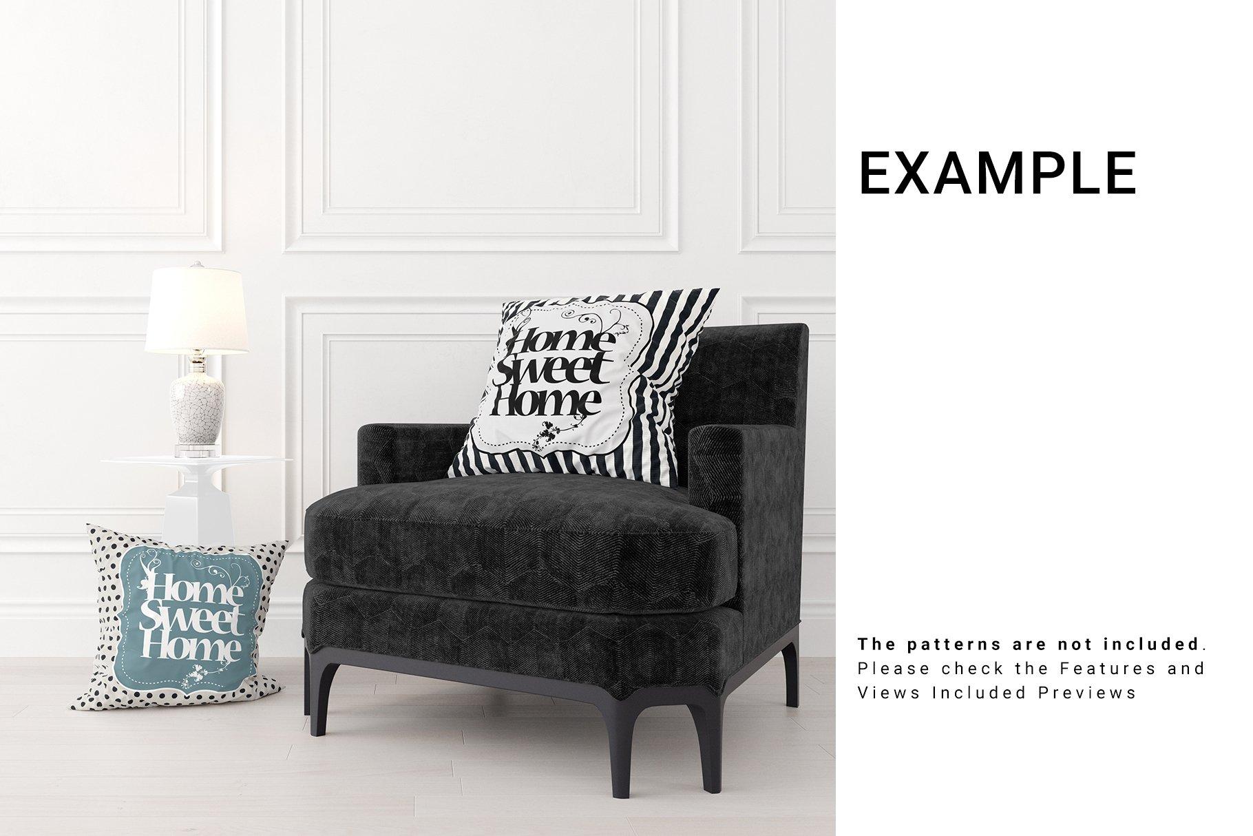 Luxury Interior Throw Pillows Set example image 4