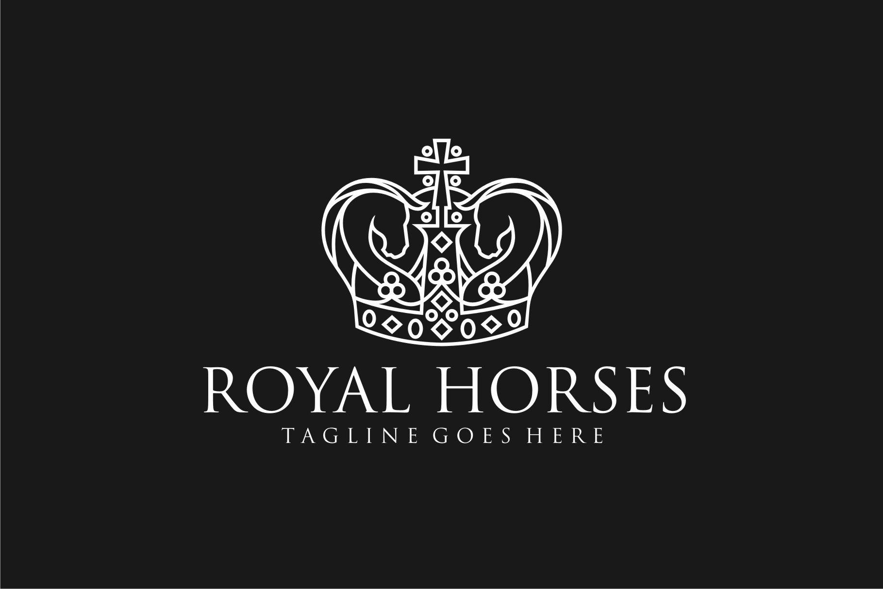 Royal Horse 541175 Logos Design Bundles