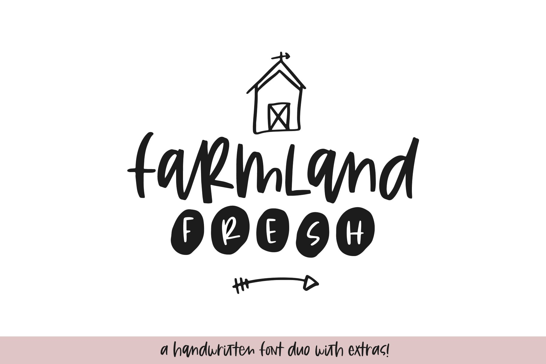 Farmhouse Font Bundle - Handwritten Fonts for Crafters! example image 22