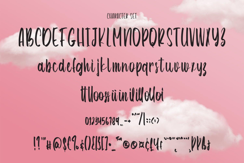 Angellina - Handwritten Script Font example image 4