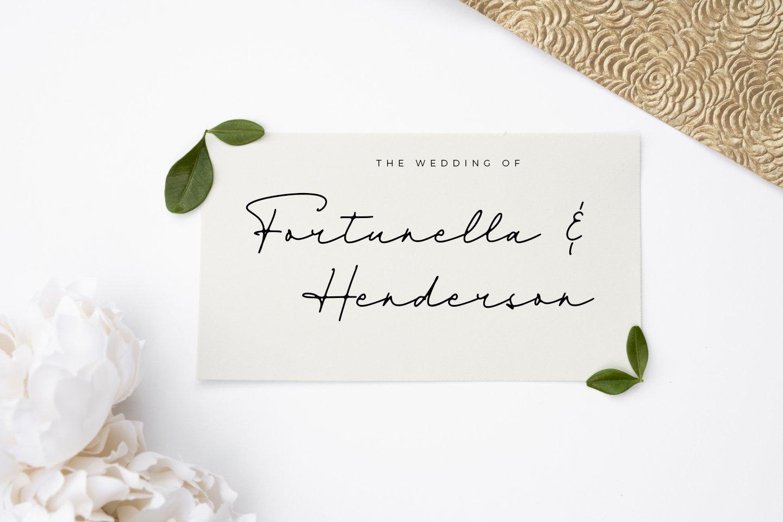 Dienilla -Luxury Handwritten- example image 2