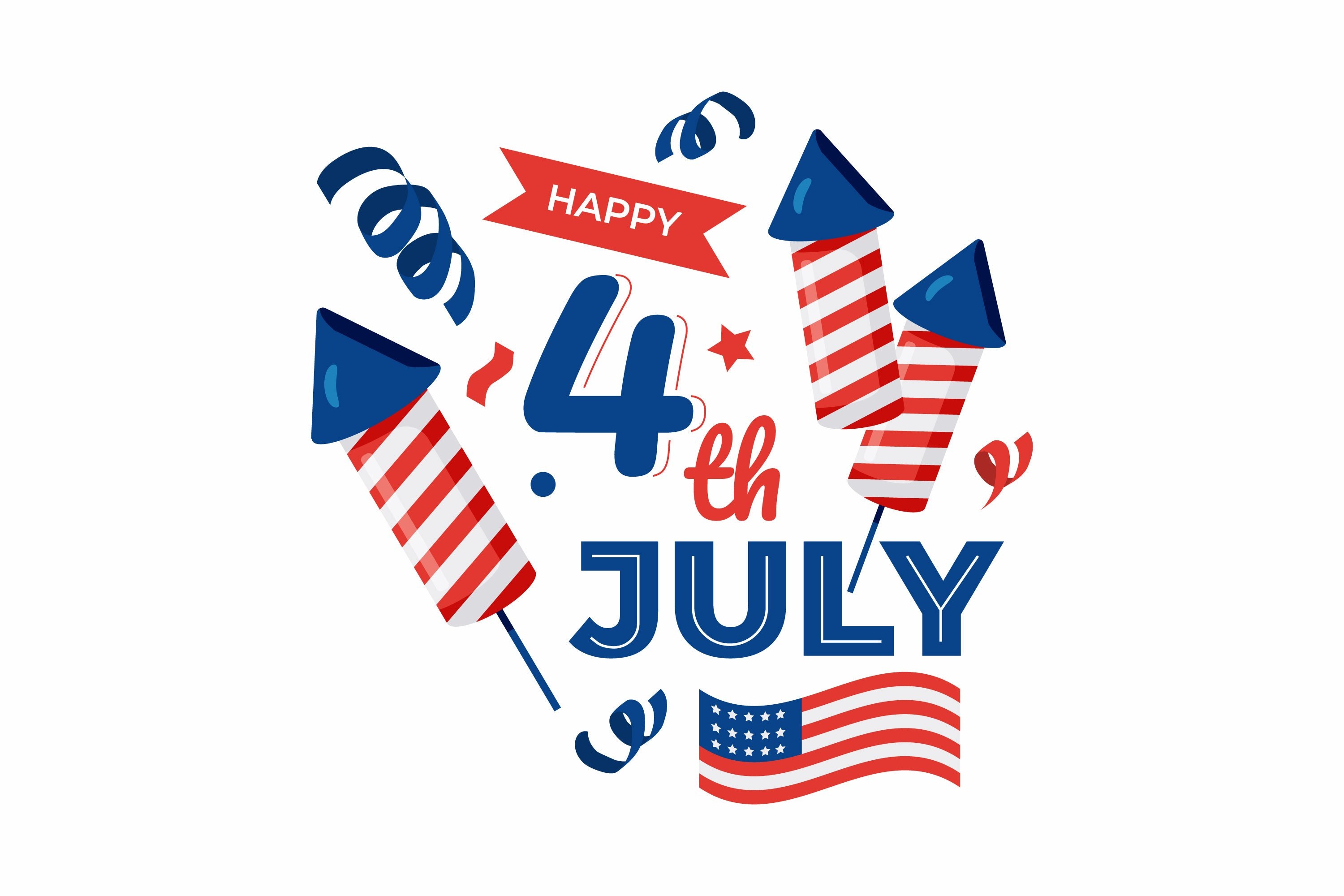 4th July Illustrations example image 1