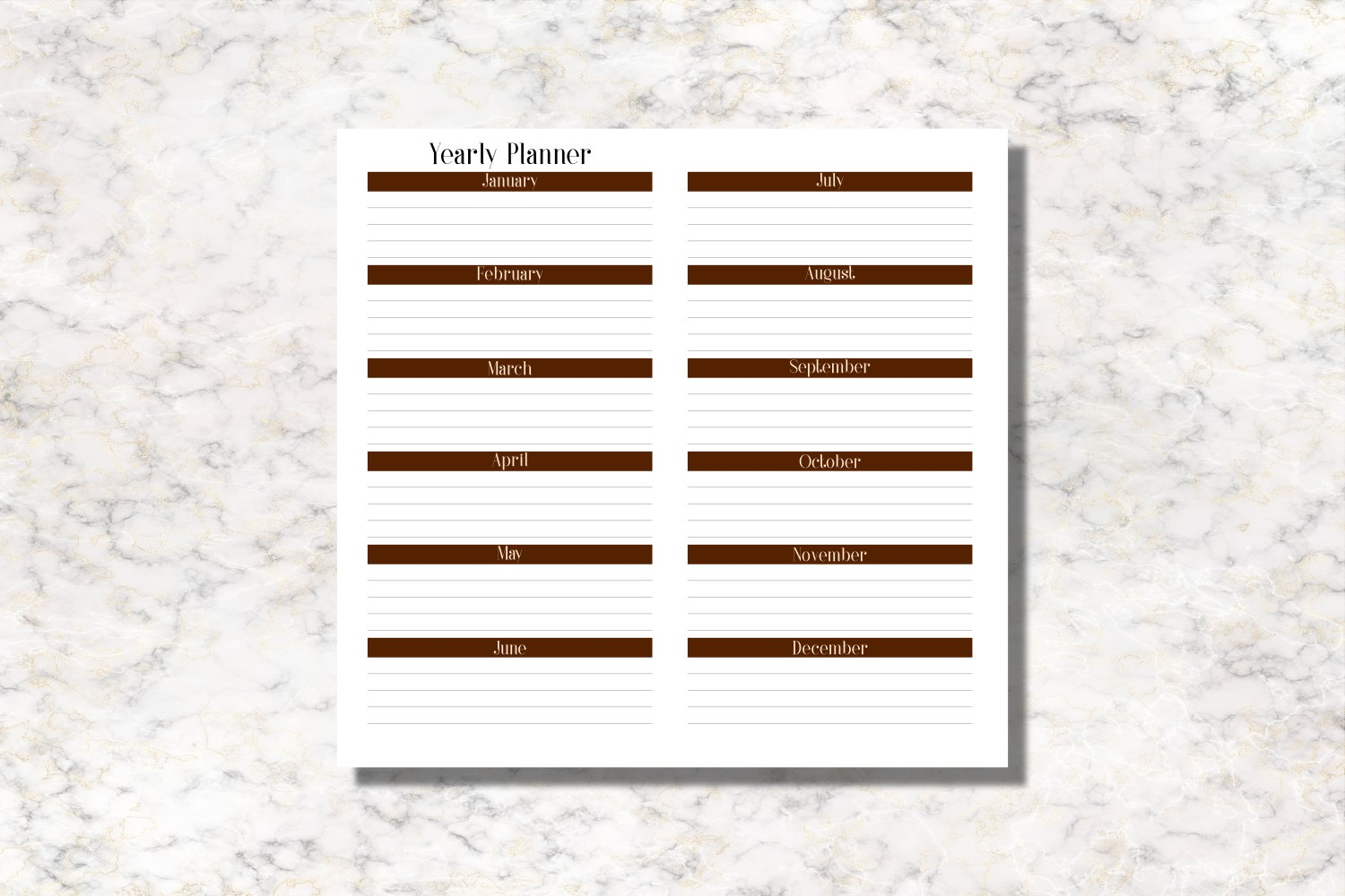 Coffee Standard Size Notebook Inserts Planner example image 4