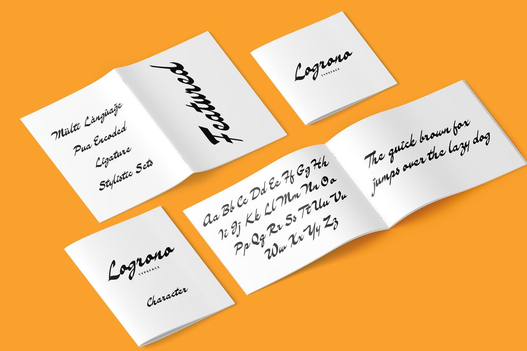 Logrono Typeface example image 6