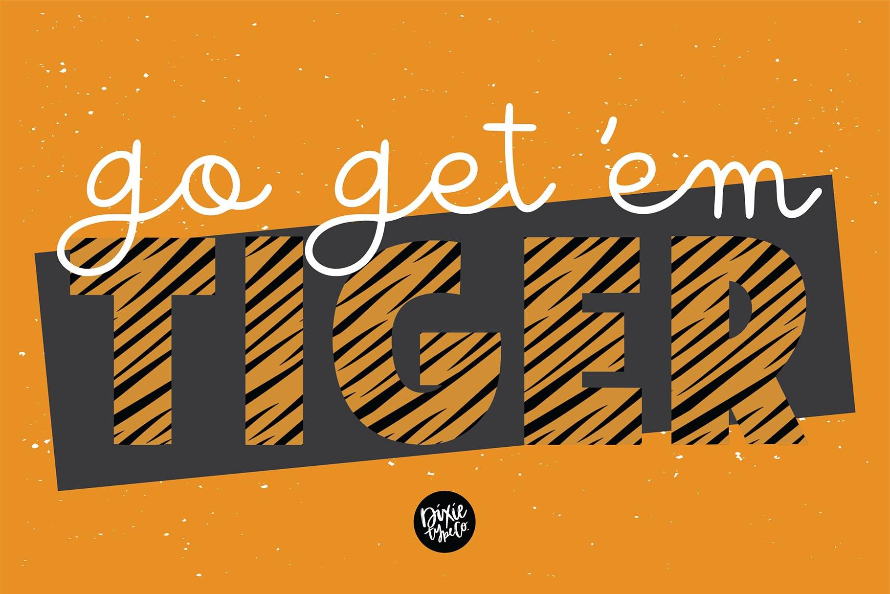 TIGER STORY Color Font Duo example image 4