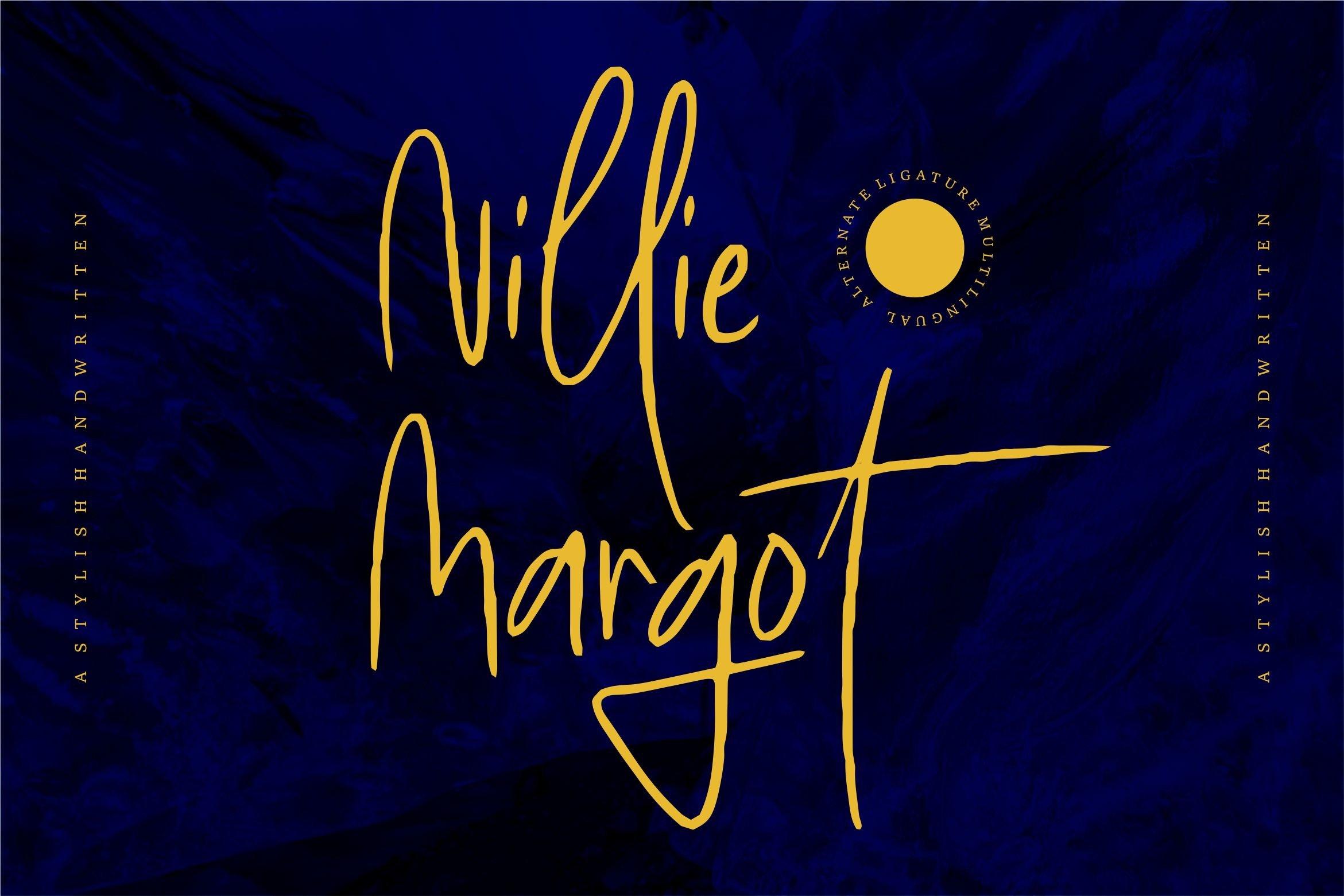 Nillie Margot - Stylish Handwritten example image 1