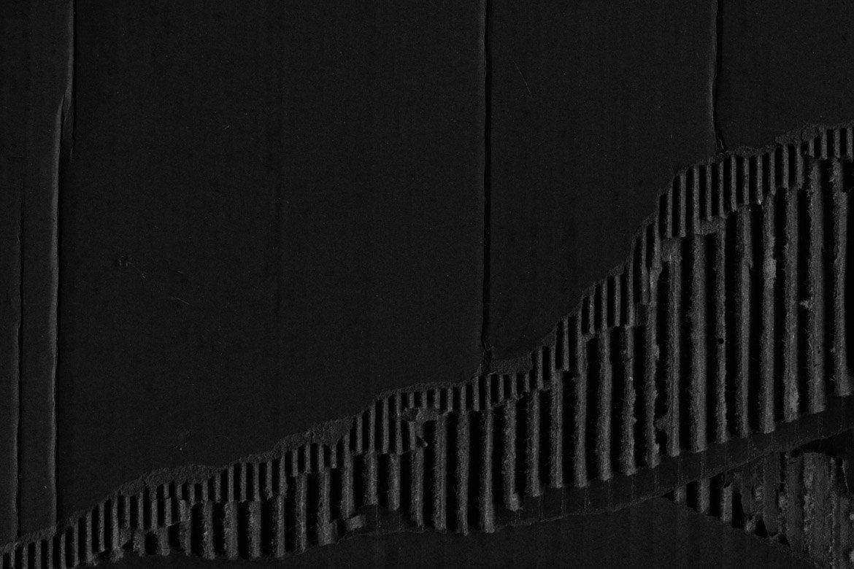 Black Cardboard Textures 2 example image 6