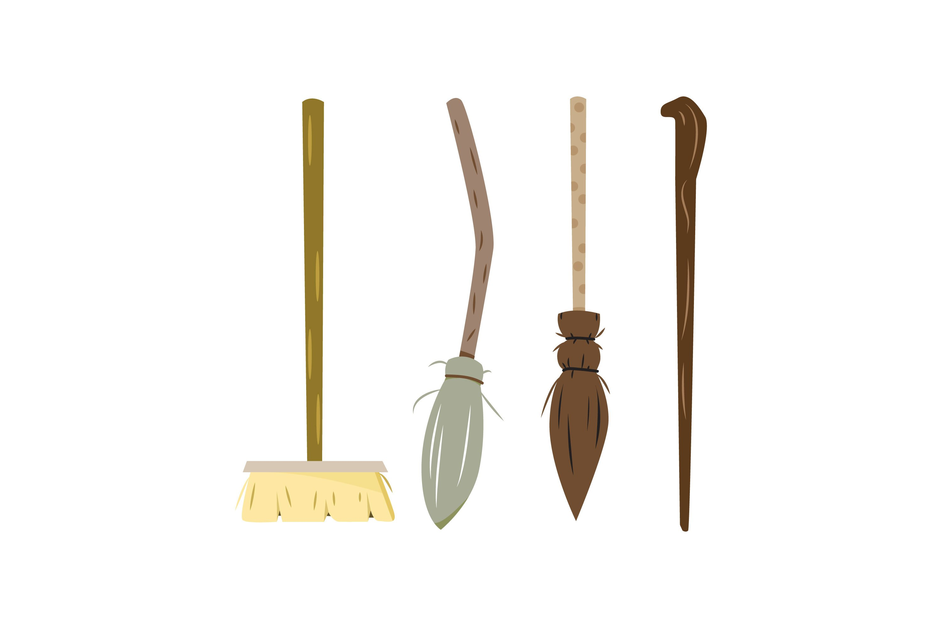 Broomstick Illustrations example image 1