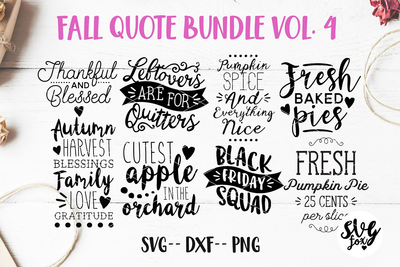 Fall Hand Lettered Bundle Vol 4 Svg Dxf Png 732496 Cut Files Design Bundles