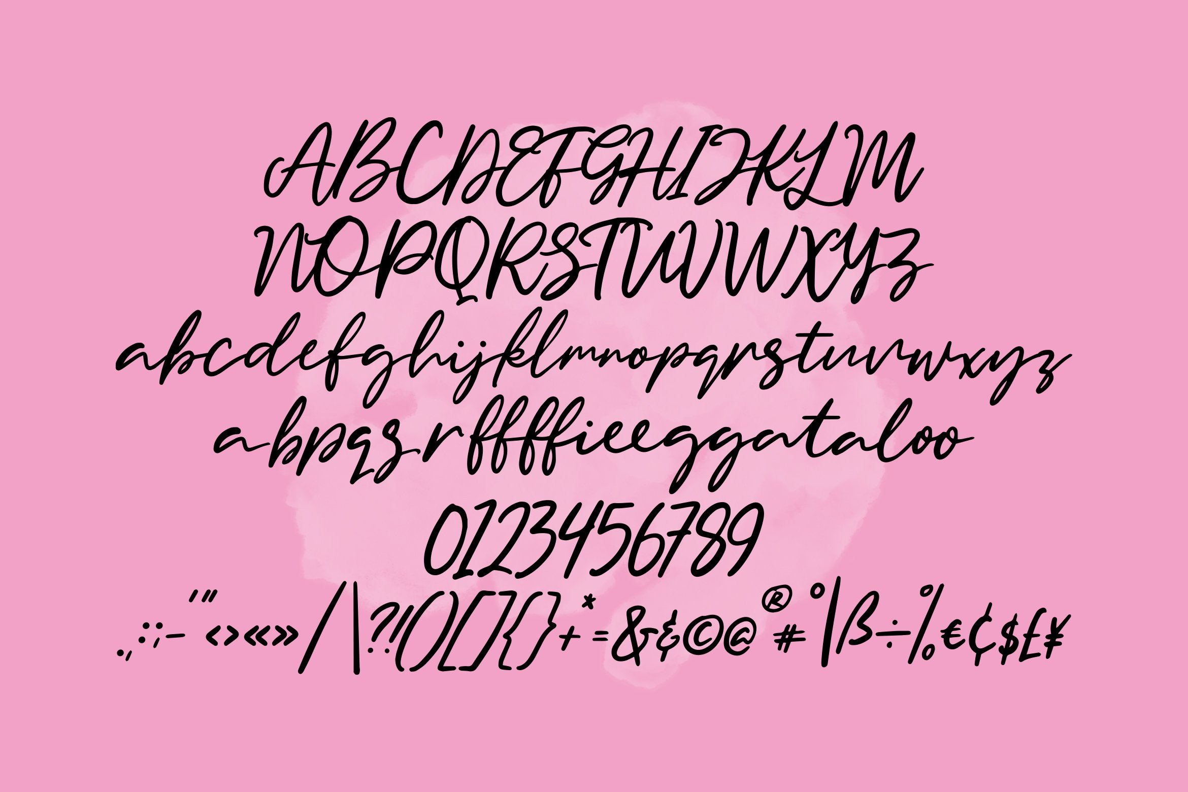 Gingerball - Script Font example image 3