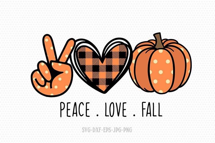 Download peace love fall svg, pumpkin svg, fall svg (874492) | Cut ...