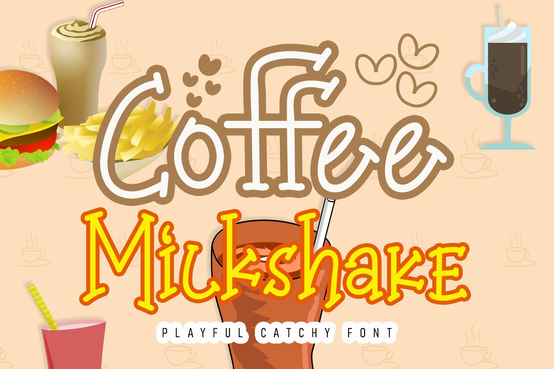 Coffee Milkshake example image 1