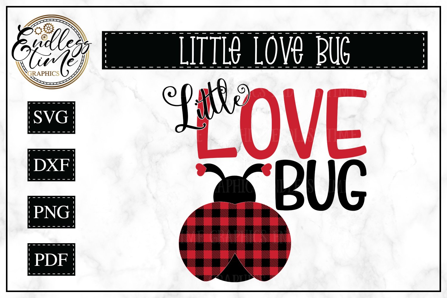 Little Love Bug A Buffalo Plaid Valentine S Day Svg 188352 Cut Files Design Bundles