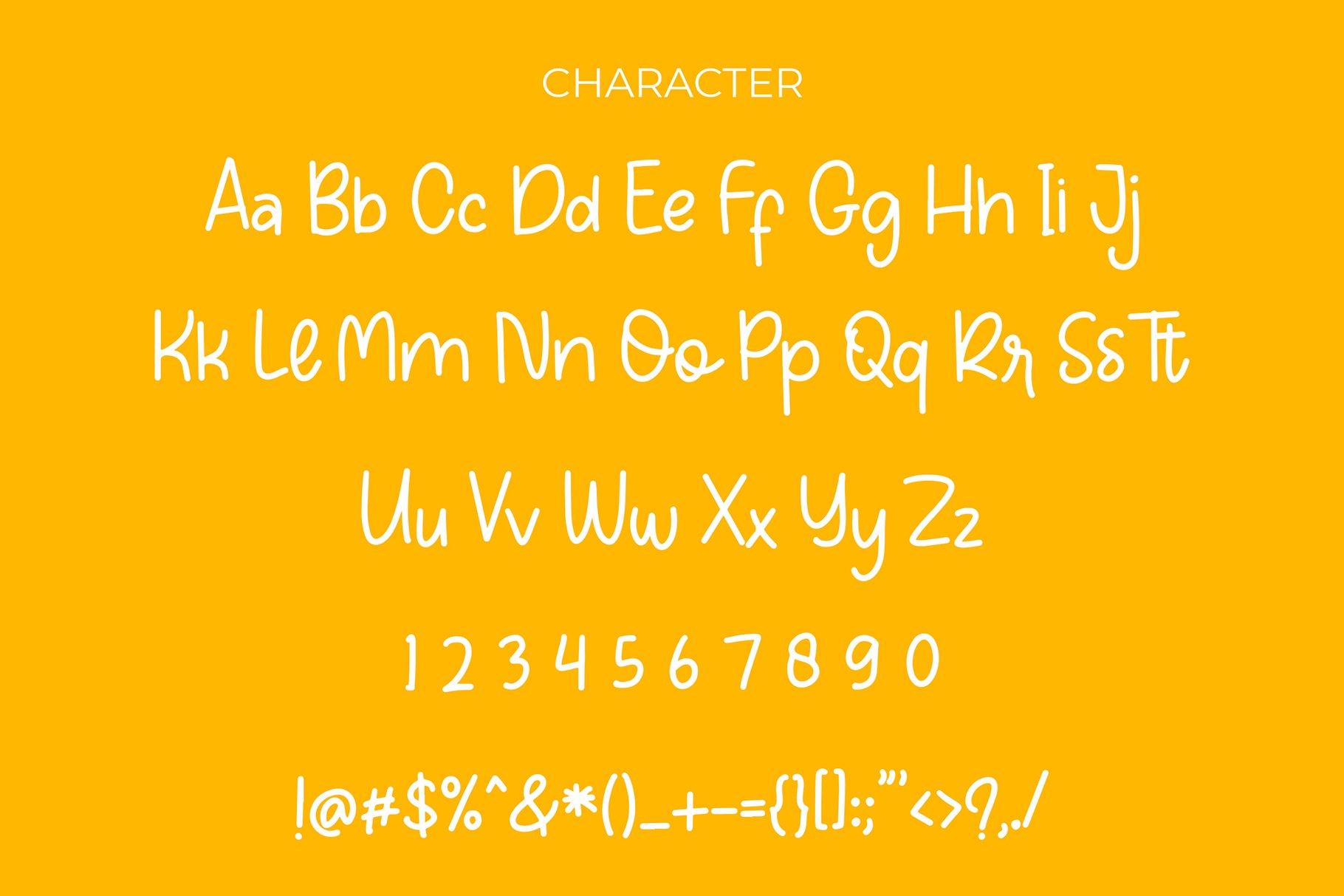Orange Fresh Handwritten Font example image 6