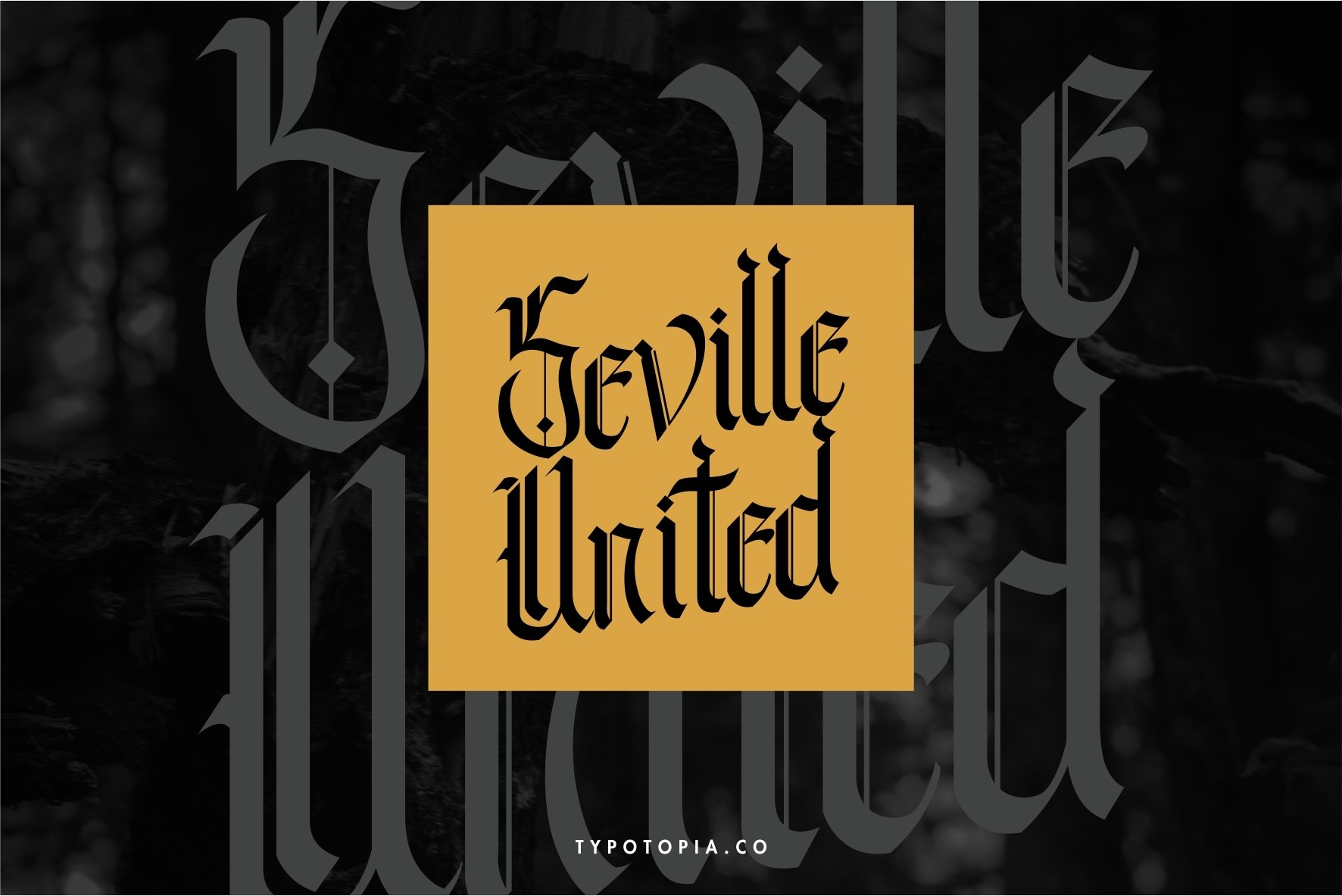 Andalusia - The Blackletter Typeface example image 2
