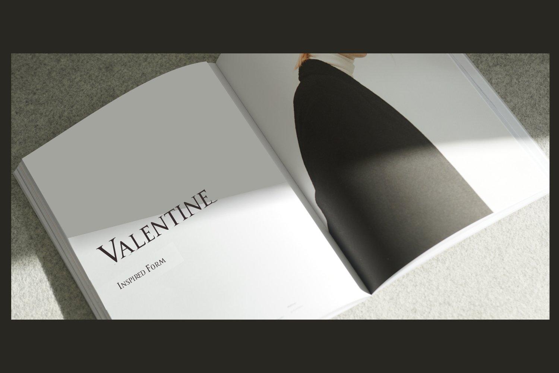 Romanus romance serif example image 4