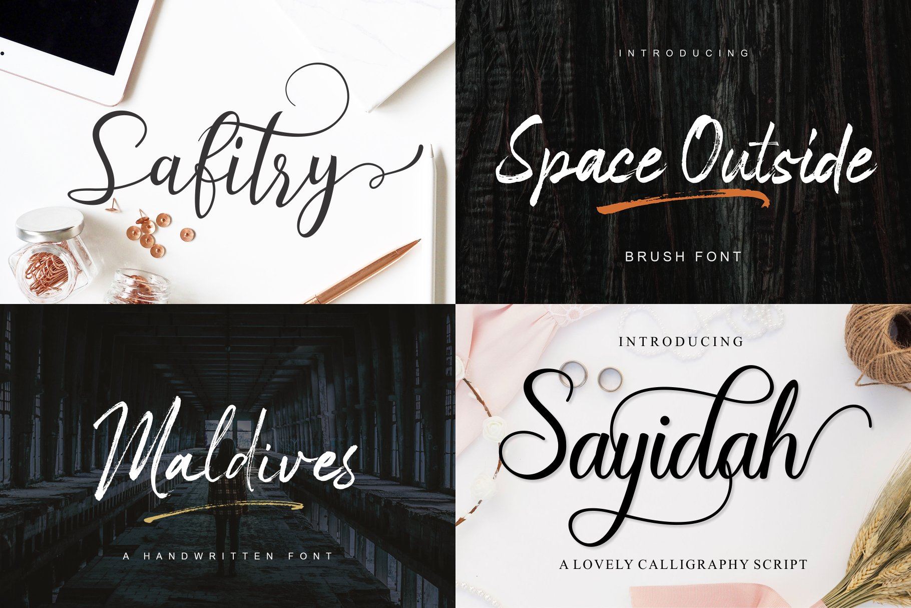 BIG BUNDLE - BEST FONT COLLECTIONS example image 10
