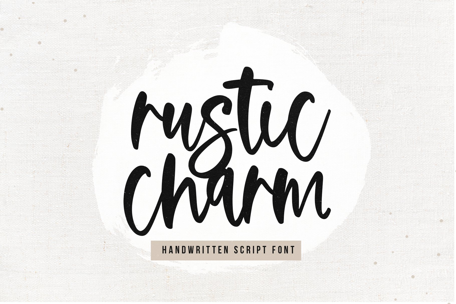 Farmhouse Font Bundle - Handwritten Fonts for Crafters! example image 19