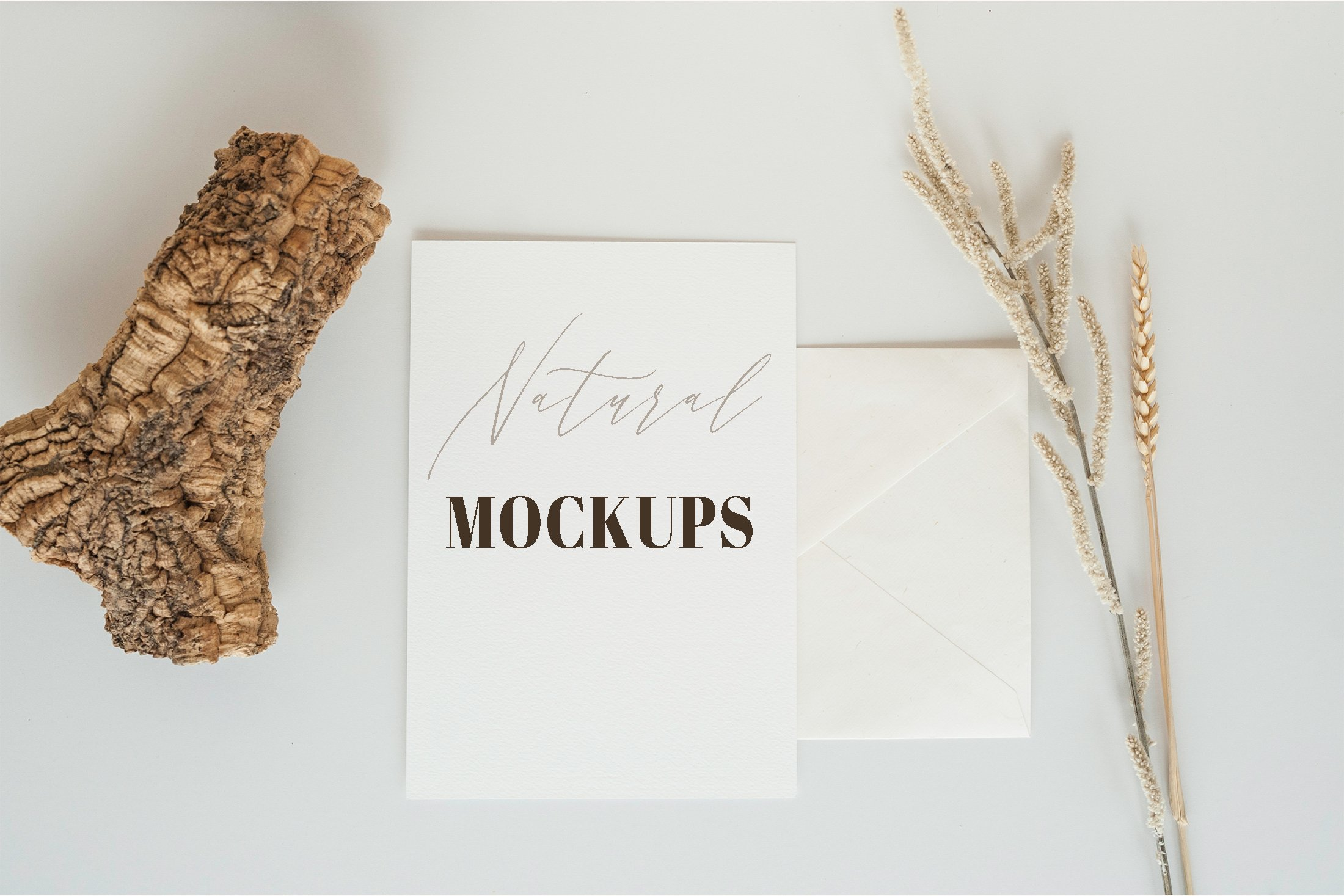 Natural. Mockup and style photos Soft and delicate nude. example image 2