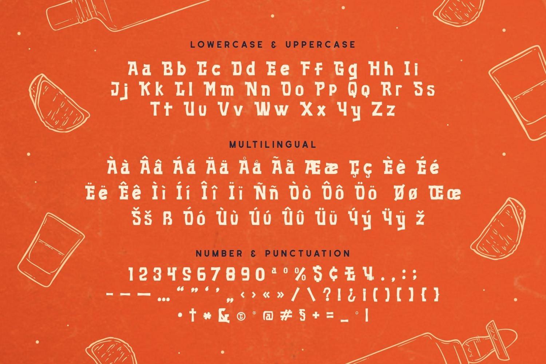 Morena - Bold Display Font example image 5