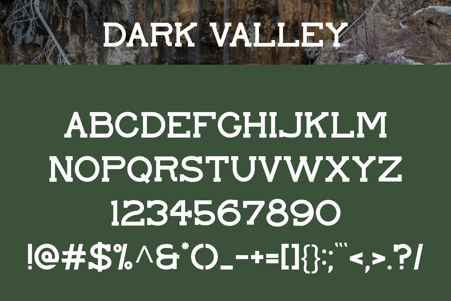 Open Springs - Font Trio example image 8