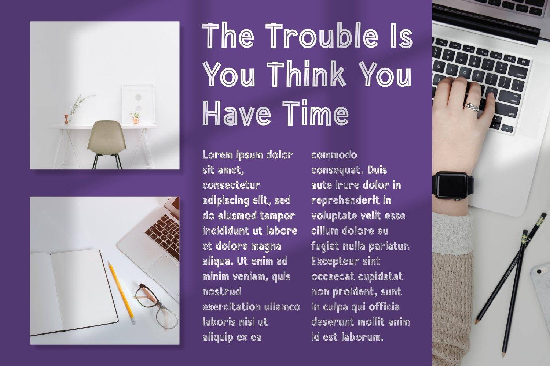 Secret Heroes - Magazine Display Font example image 5