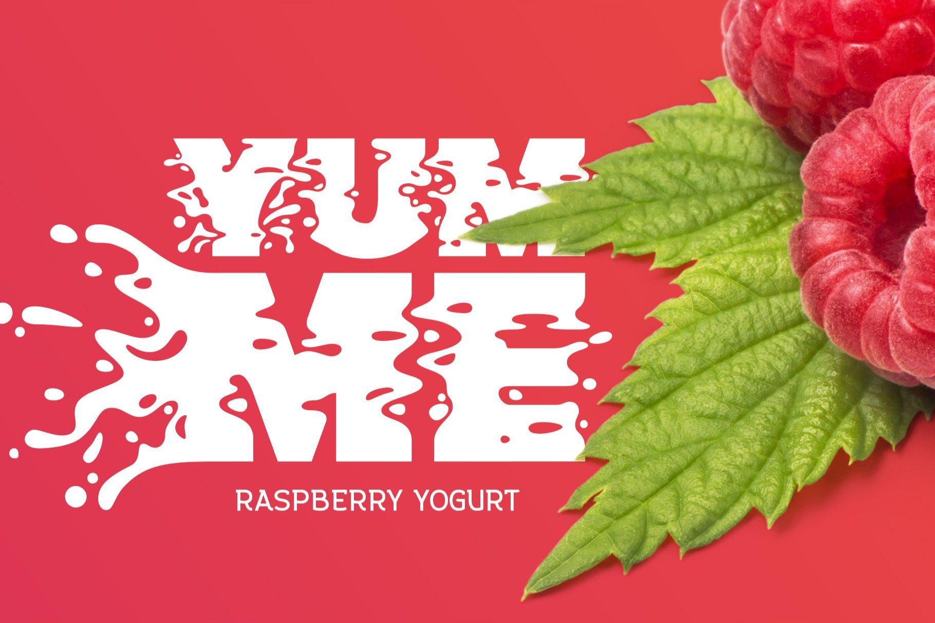 Plop liquid font example image 3