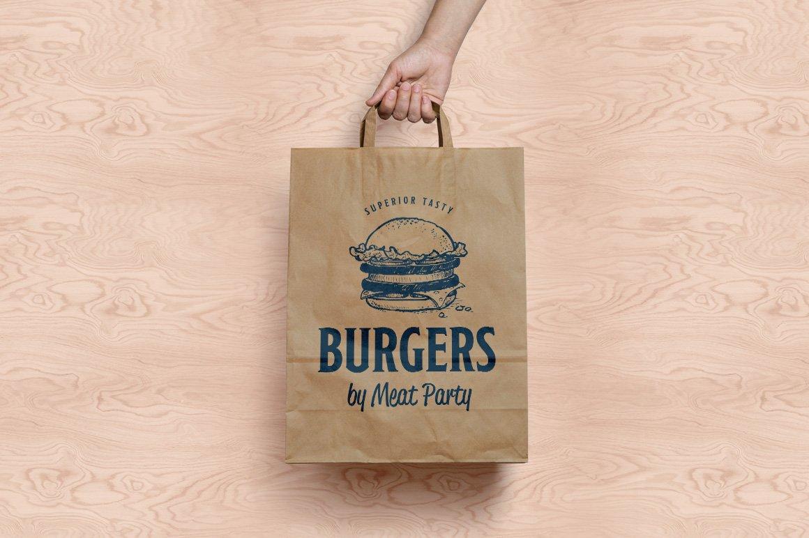 Fast Food Hand Draw Illustration Set example image 8
