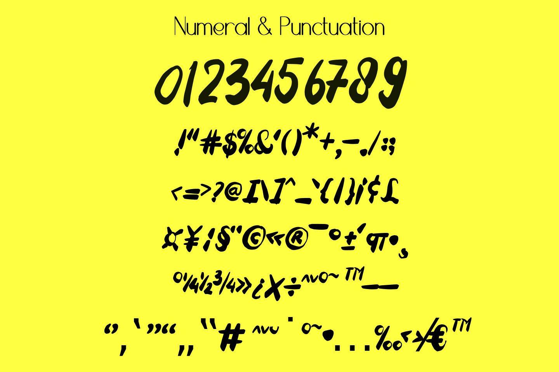 Tuesday Spirit Ethnic Font example image 12