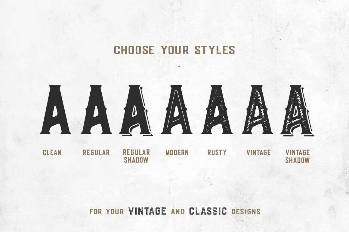Old Scotch Typeface example image 2