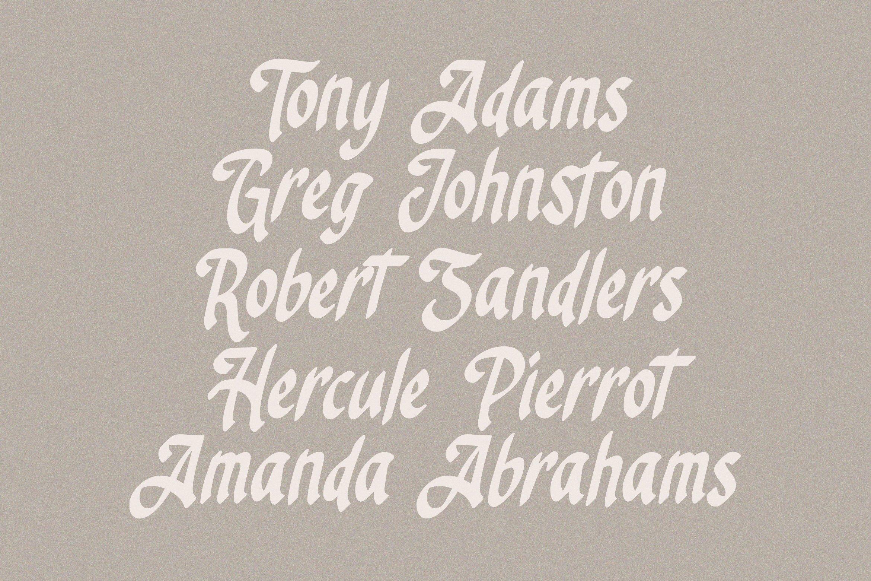 Angelus - Handrawn Calligraphic Font example image 3