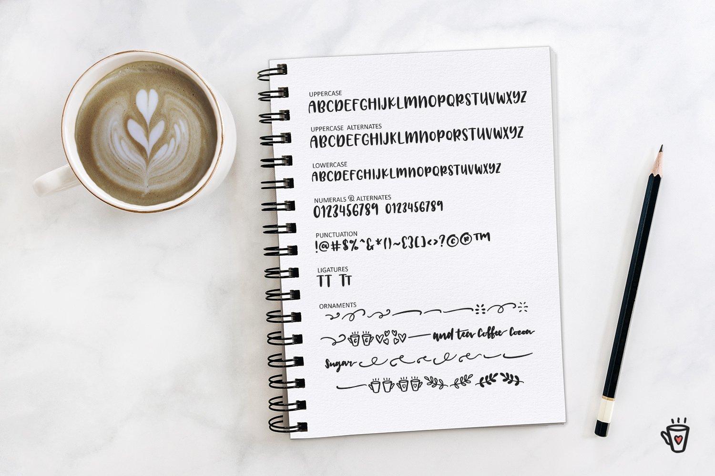 Latte Love Sans example image 3