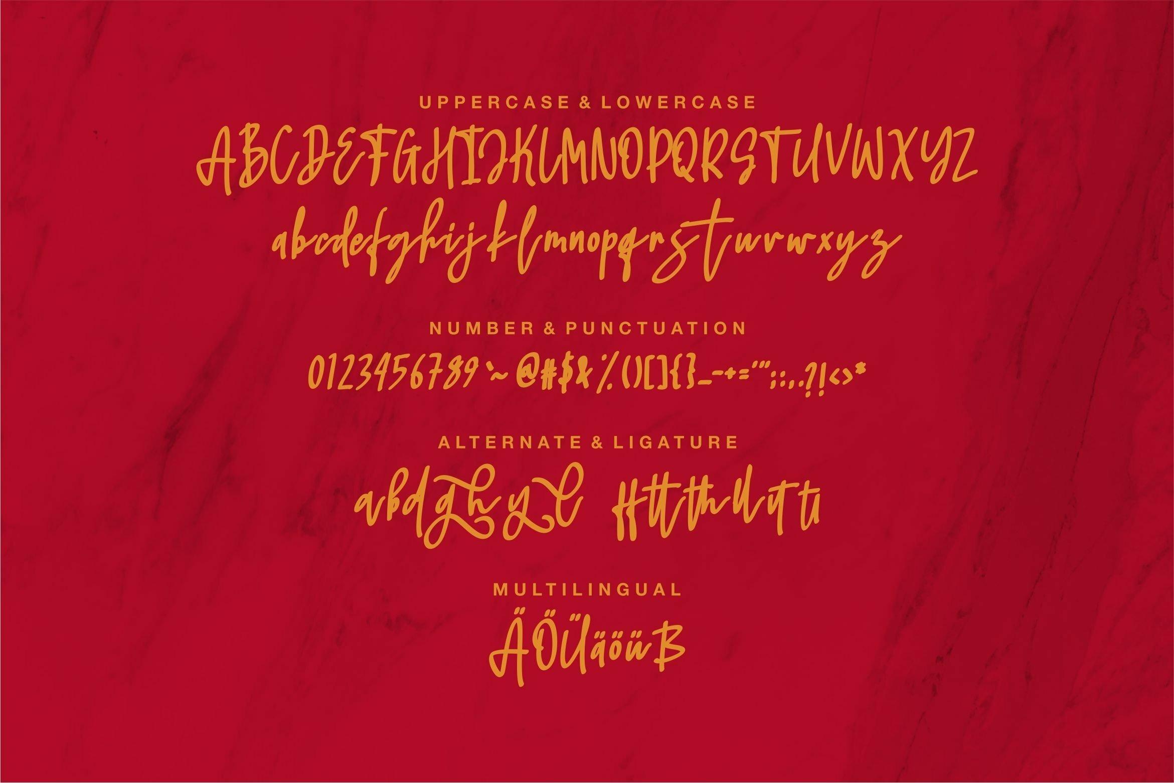 Jhaliel - Beauty Script Font example image 3