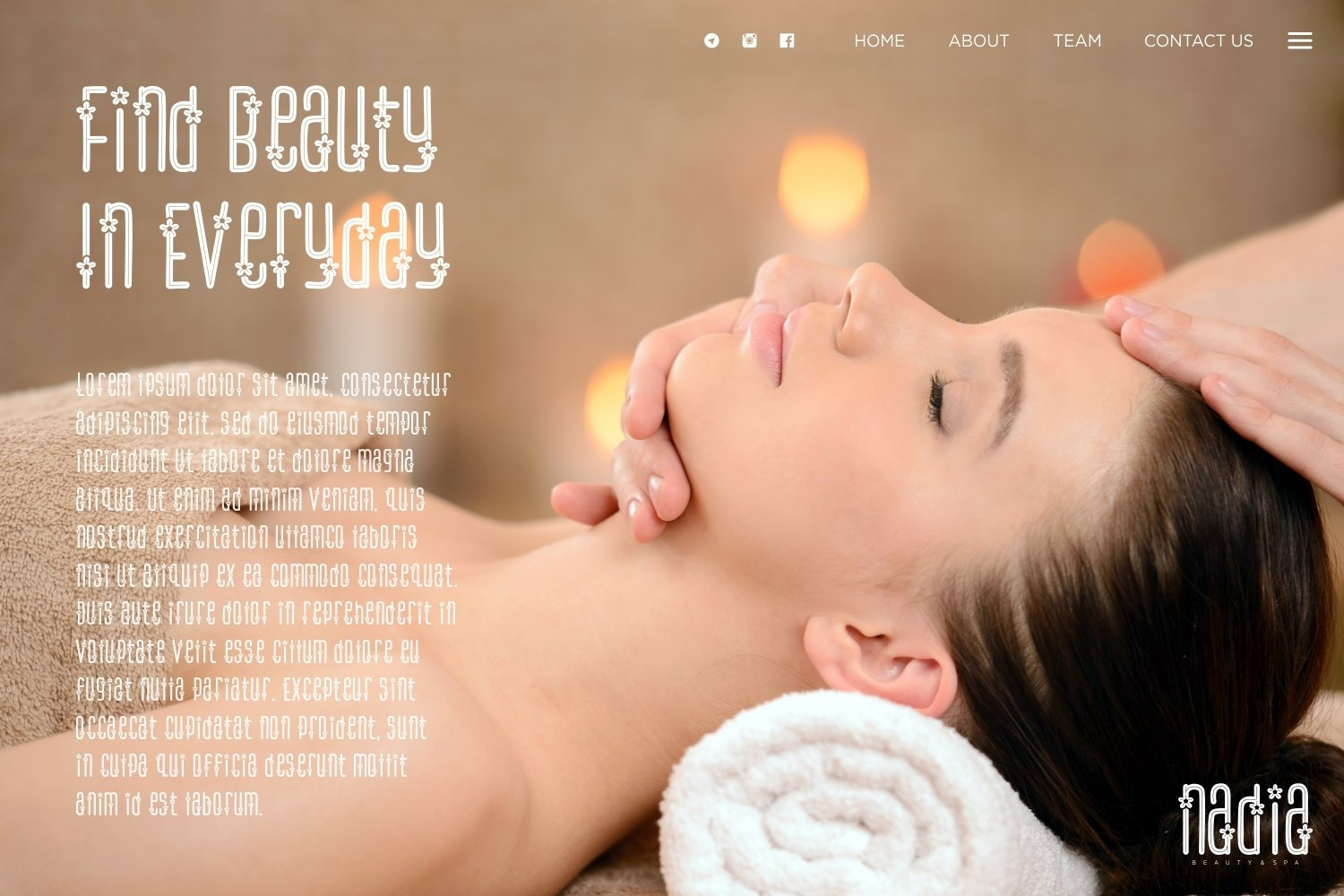 Flower Spa - Beautiful Display Font example image 3