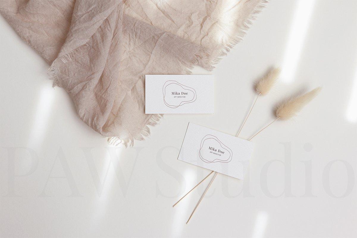 Card Mockup,Business Card Mockup,3.5x2 example image 4