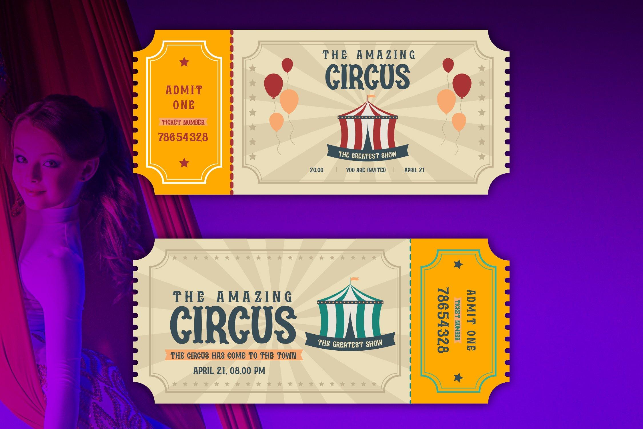 Acrobats - Circus Font example image 2
