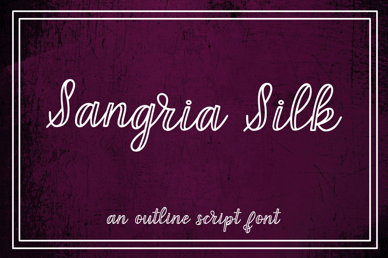 Handlettered Font Bundle - 8 Script Fonts example image 12