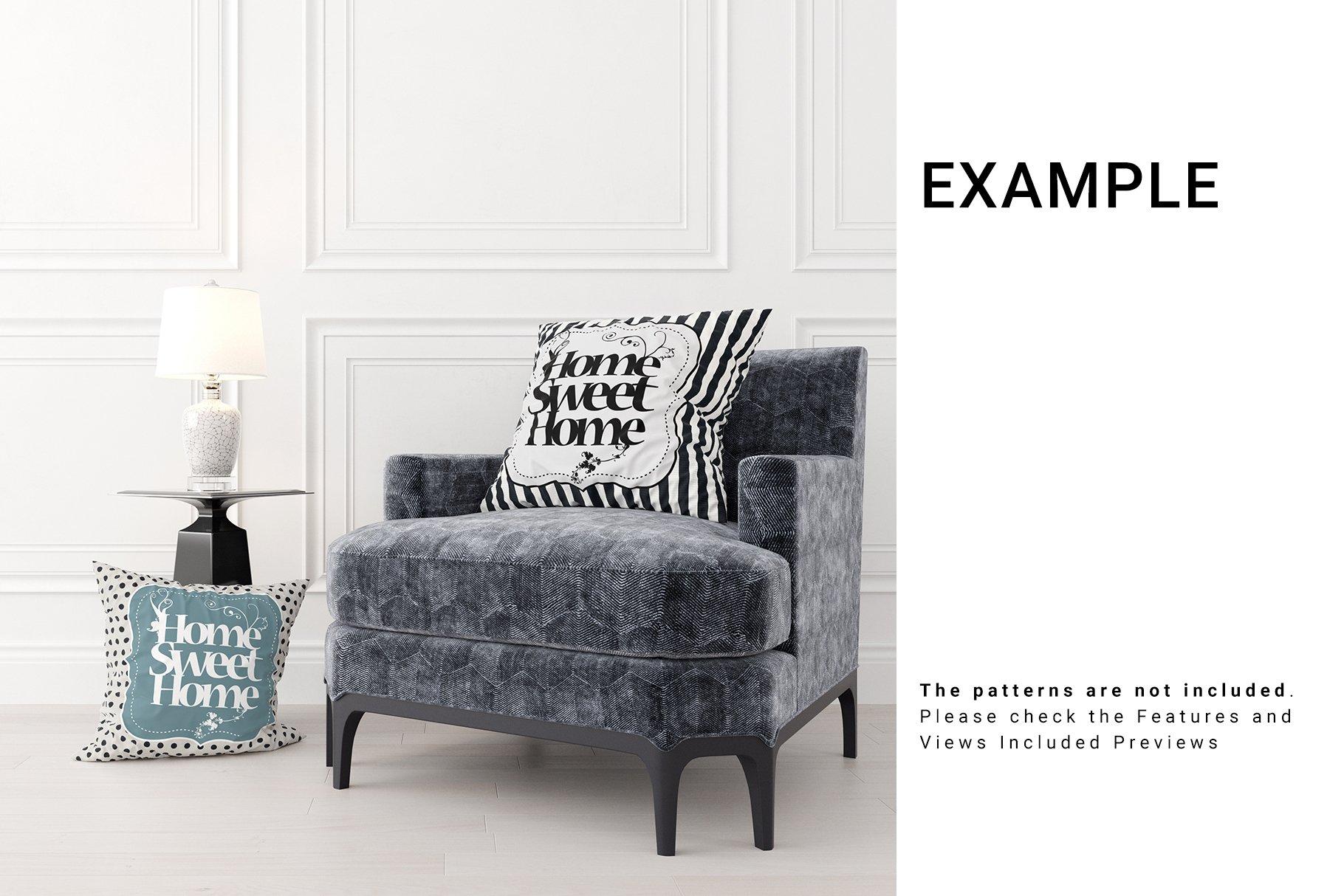 Luxury Interior Throw Pillows Set example image 12