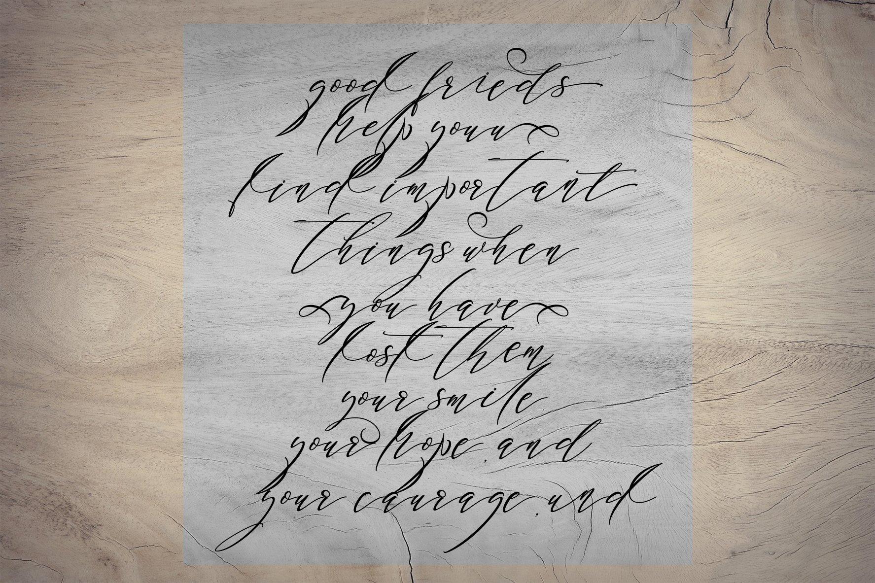 Black Thise Script example image 2
