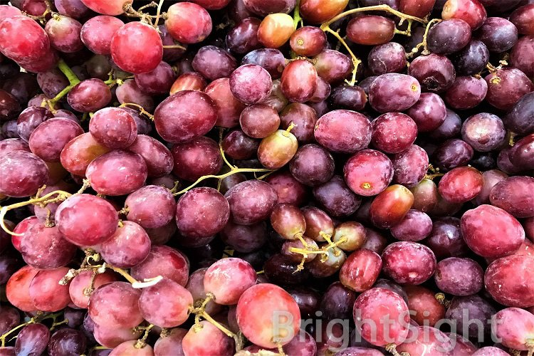 Ripe red grapes example image 1