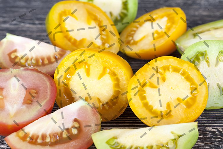 tomato sliced example image 1
