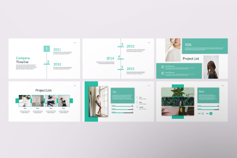 Kaori Business Google Slide example image 2